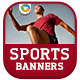 Sports Banners - GraphicRiver Item for Sale