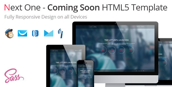 Next One – Coming Soon HTML5 Template