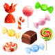 Candies Icons - GraphicRiver Item for Sale