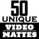 50 Unique Mattes Transitions - VideoHive Item for Sale