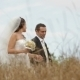 Newly Weds In A Field - VideoHive Item for Sale