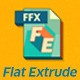Flat Extrude Preset - VideoHive Item for Sale