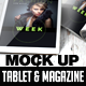 Magazine and Tablet Mock Up - GraphicRiver Item for Sale