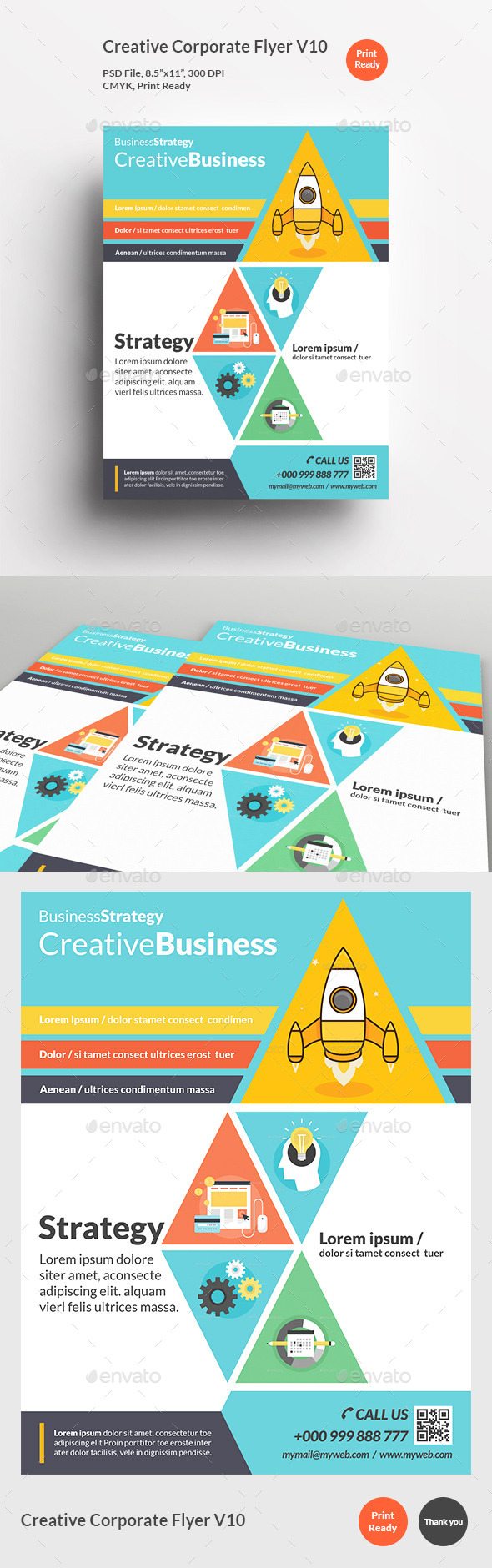 Creative Corporate Flyer V10 - Corporate Flyers