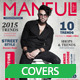 Manful Fashion Magazine Cover - GraphicRiver Item for Sale