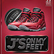 Jordan's On My Feet Flyer Templete - GraphicRiver Item for Sale