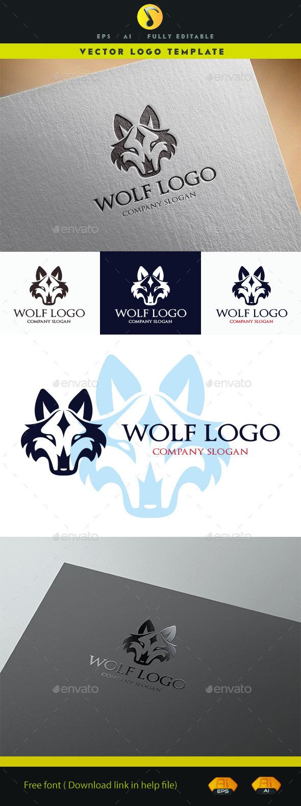 Wolf Logo - Animals Logo Templates