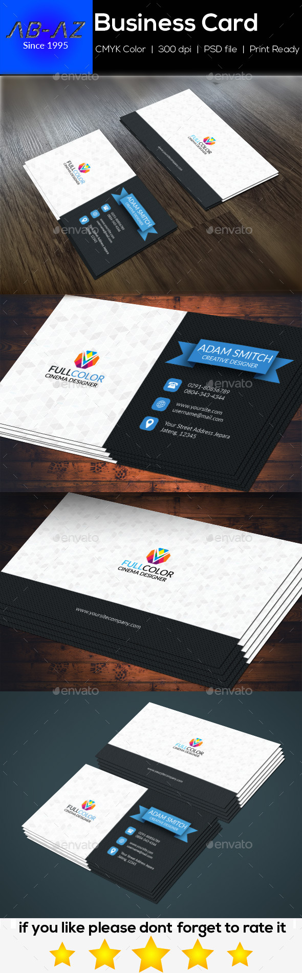 Business Card Corporate Modern - Corporate Business Cards