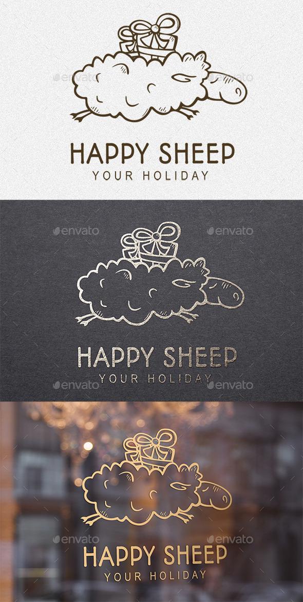 Happy Sheep - Logo Templates