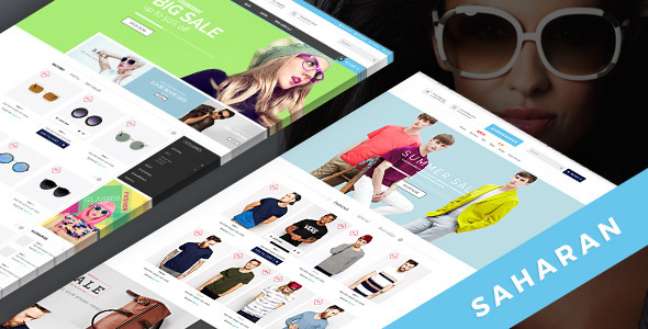 Saharan – Multi-Purpose PSD Template