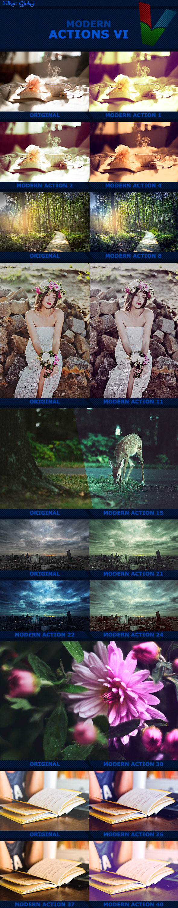 40 Modern Actions VI - Photo Effects Actions