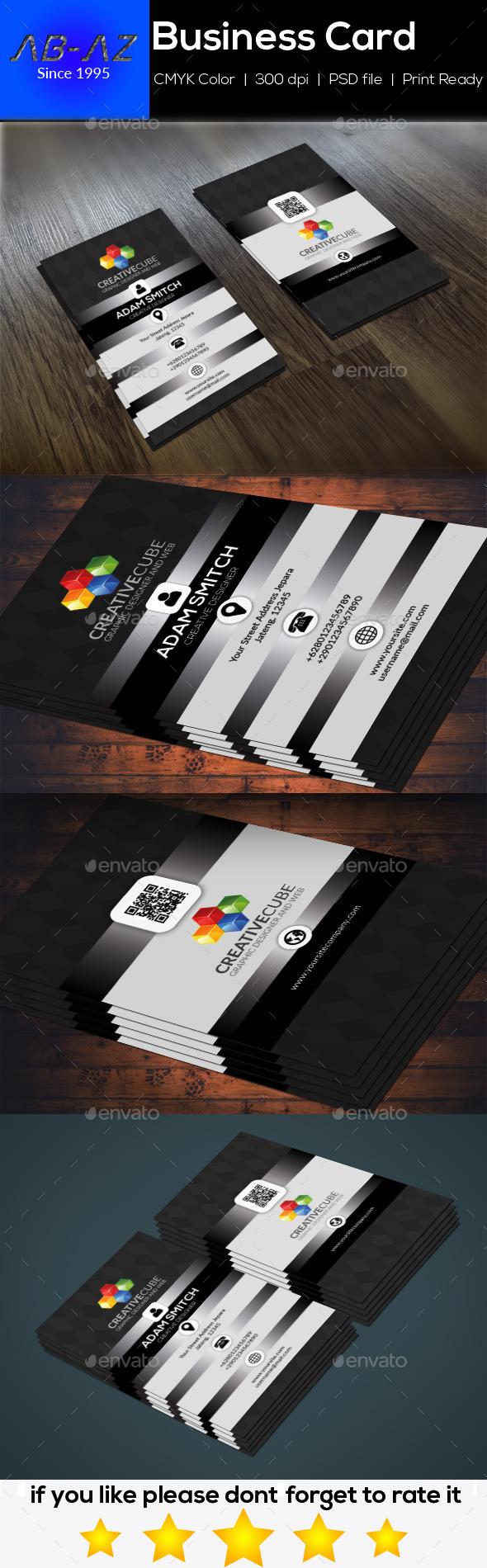 Klasik Business Card - Corporate Business Cards