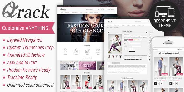 Qrack – Responsive Shopify Theme
