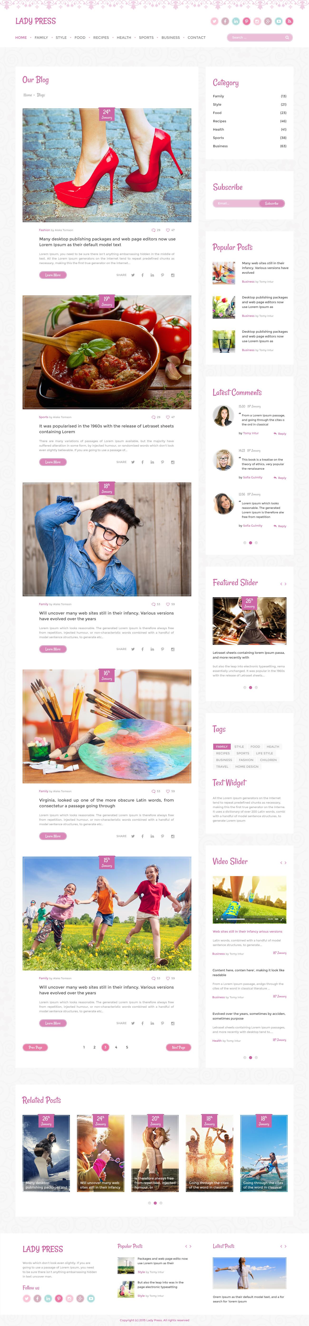 Beste Blogger Magazin Vorlage Bilder - Beispiel Business Lebenslauf ...