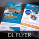 Travel Agency DL Flyer & Postcard InDesign - GraphicRiver Item for Sale