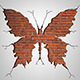 Brick Damage Butterfly - GraphicRiver Item for Sale