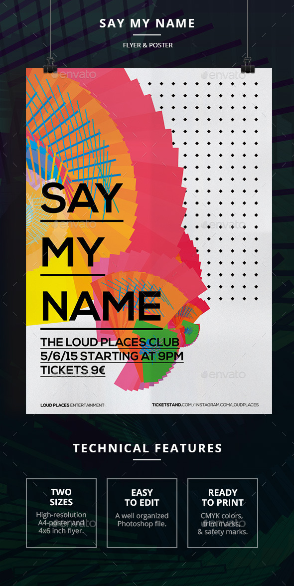 Say My Name - Clubs & Parties Events