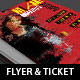 Art Expo Flyer Ticket Event Pass Template - GraphicRiver Item for Sale