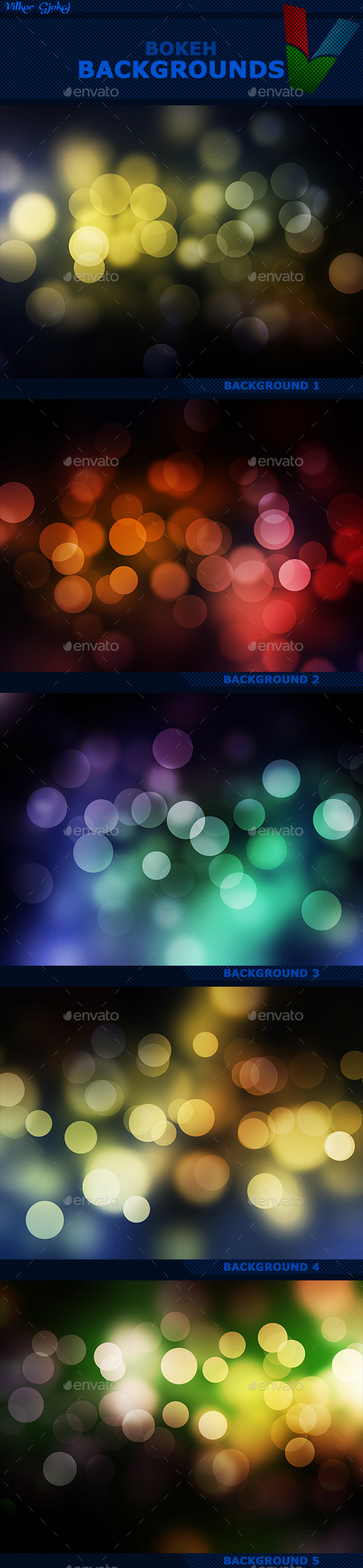 Bokeh Backgrounds - Abstract Backgrounds