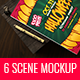 6 Scene Sketch Mockup - GraphicRiver Item for Sale