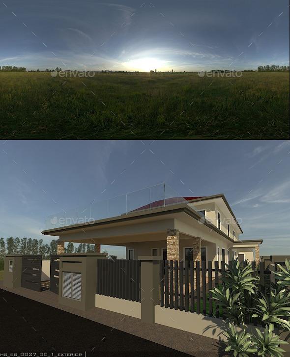 Exterior HDRi - 3DOcean Item for Sale