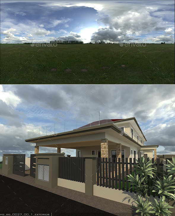 Exterior HDRi 4 - 3DOcean Item for Sale