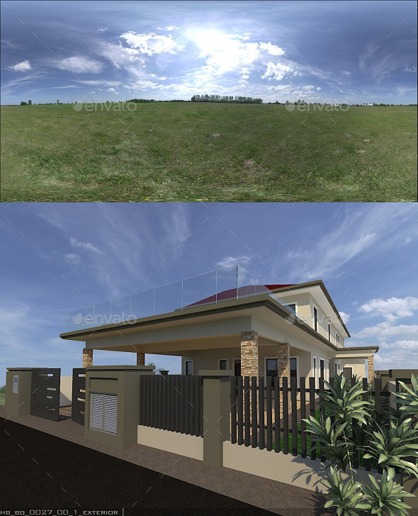 Exterior HDRi 5 - 3DOcean Item for Sale