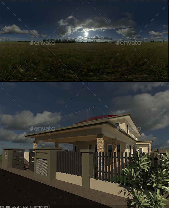 Exterior HDRi 6 - 3DOcean Item for Sale