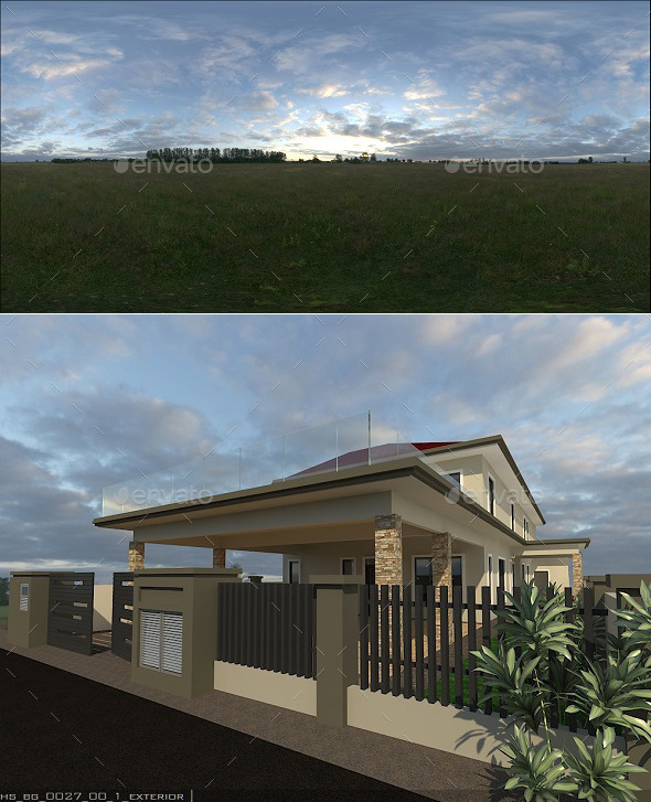 Exterior HDRi 8 - 3DOcean Item for Sale