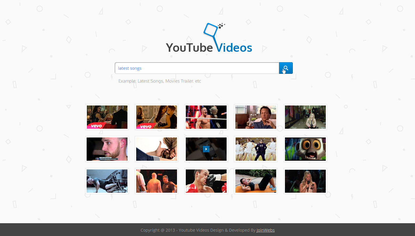 Www youtube com video search