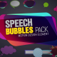 Speech Bubbles Pack - VideoHive Item for Sale
