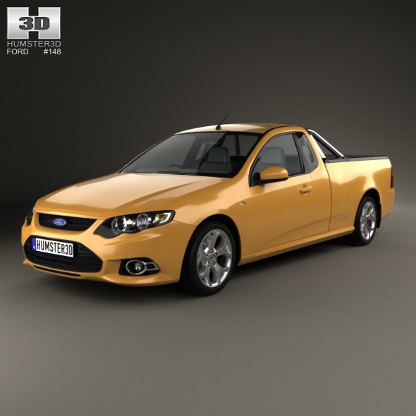 Ford FG Falcon XR6 UTE 2011 - 3DOcean Item for Sale