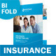 Insurance Company Bifold / Halffold Brochure - GraphicRiver Item for Sale