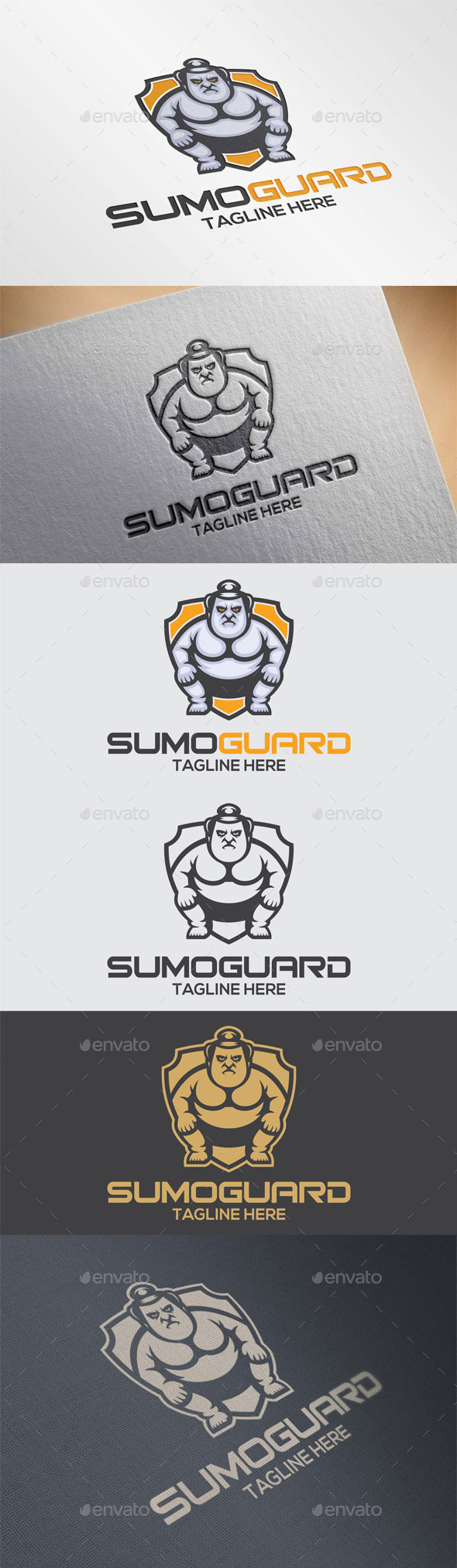 Sumo Guard Logo Template - Humans Logo Templates