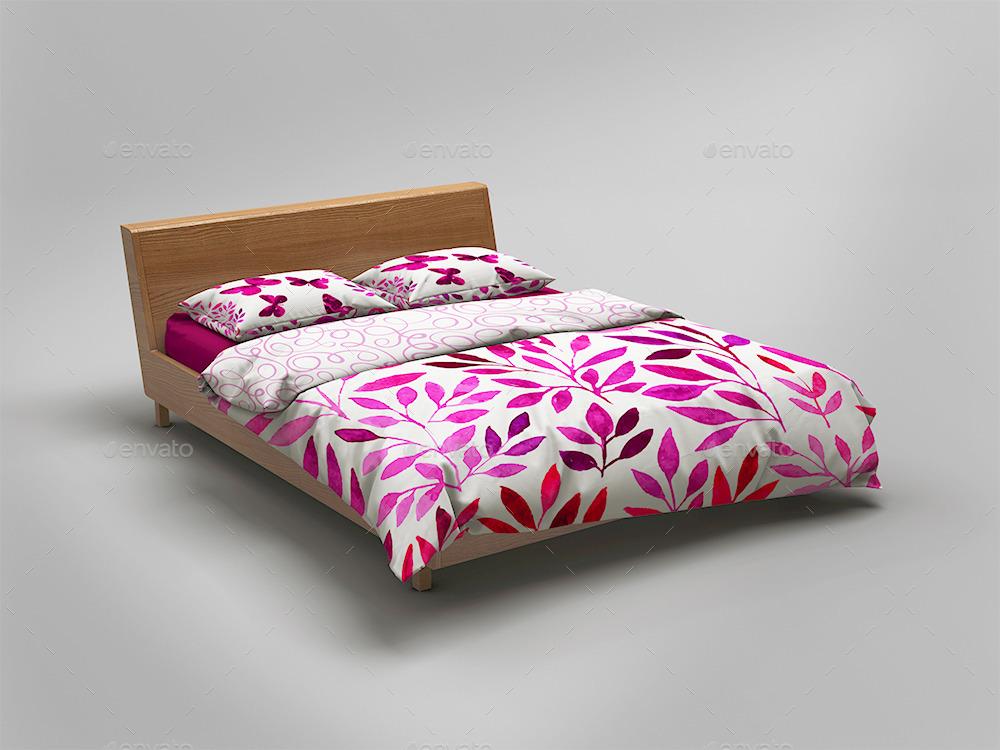 Bedding Sets & Bed Linen Mockup by goner13 | GraphicRiver