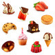 Confectionery Icons - GraphicRiver Item for Sale
