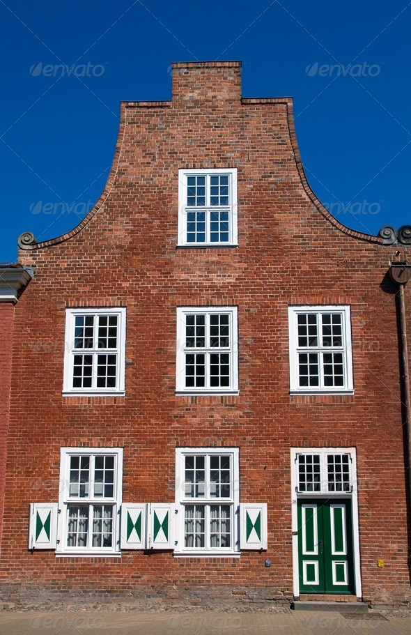 House in the dutch quarter - Stock Photo - Images