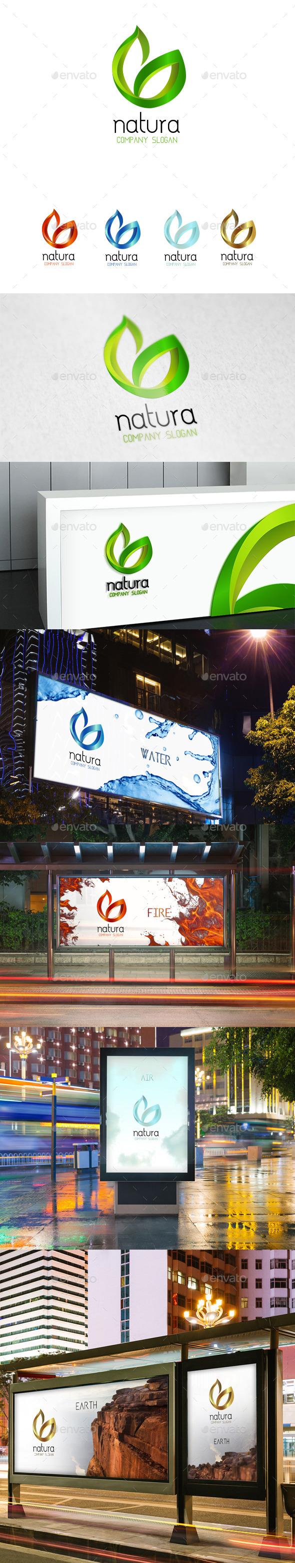 Natura logo  - Nature Logo Templates