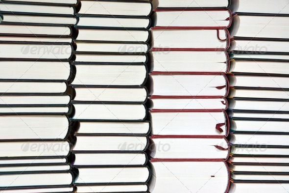 Background from books - Stock Photo - Images