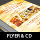 Musical Event Flyer Ticket CD Template