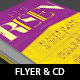 Risen Flyer CD Template - GraphicRiver Item for Sale