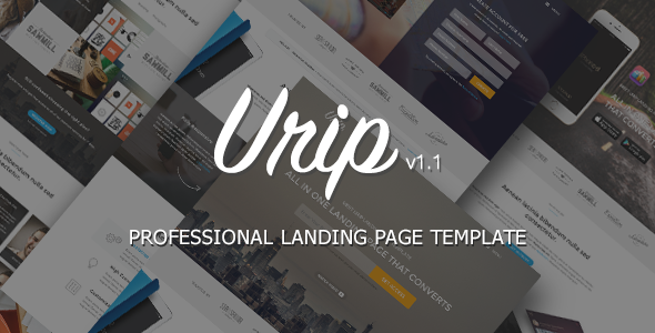 Urip – Professional Landing Page