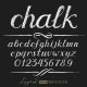Chalk Alphabet - GraphicRiver Item for Sale