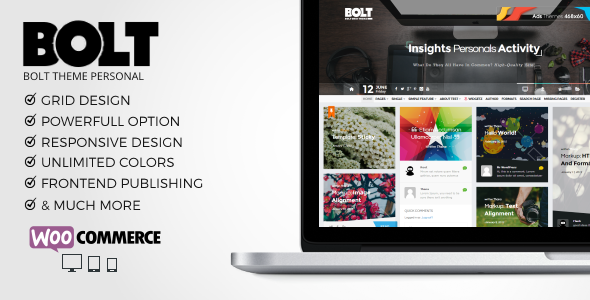 BOLT – WP Grid Personals Theme