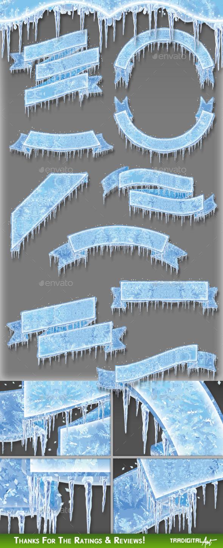 Frozen Banners - Decorative Symbols Decorative