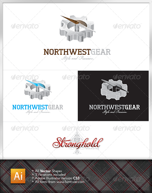 Northwest Gear Logo - Objects Logo Templates
