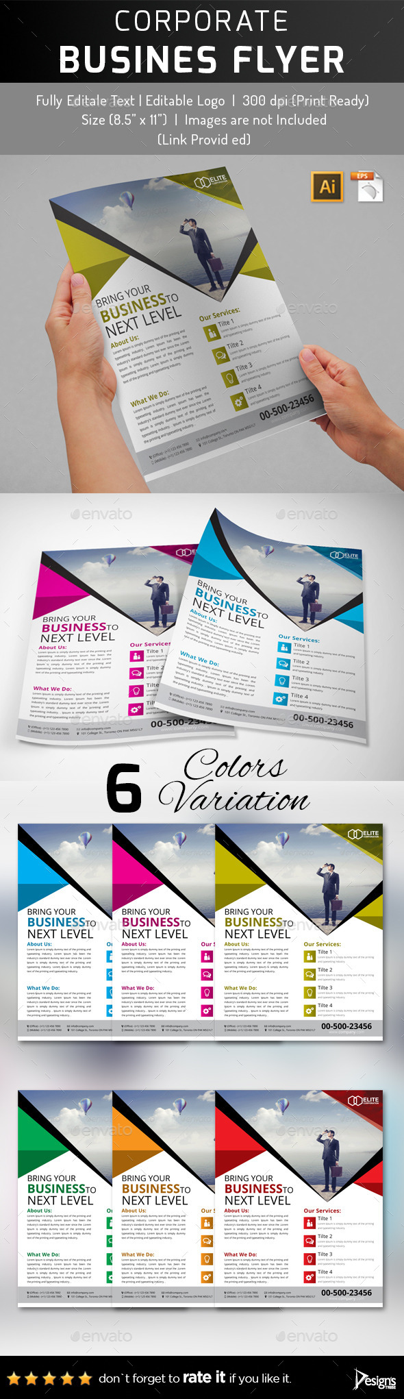 Multipurpose Business Flyer 48 - Corporate Flyers