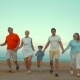 Bih Happy Family Running On The Beach - VideoHive Item for Sale