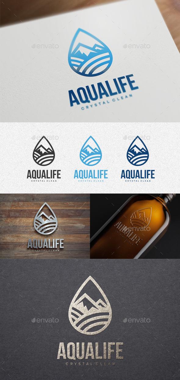 Aqualife - Logo Templates