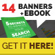 14 Flat Multi-Purpose Web Marketing Banners - GraphicRiver Item for Sale